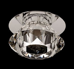 BPM Lighting BPM 3091 - Vestavné svítidlo Cristal, chrom,