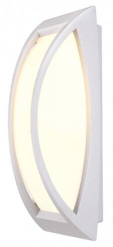 BIG WHITE Venkovní svítidlo MERIDIAN ii nástěnná stříbrnošedá (LA 230444)
