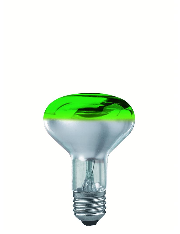 Paulmann Reflektorová žárovka 60W zelená 25063