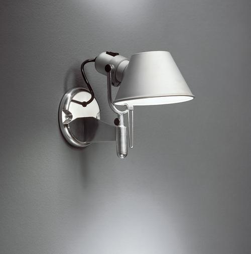 Nástěnná lampička Artemide TOLOMEO FARETTO s vypínačem A029250