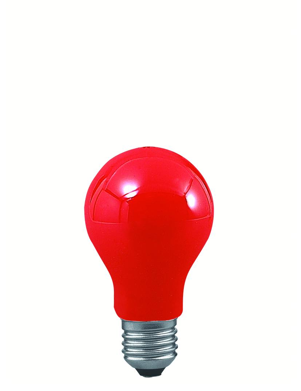 Paulmann Klasická žárovka 25W E27 červená 40021