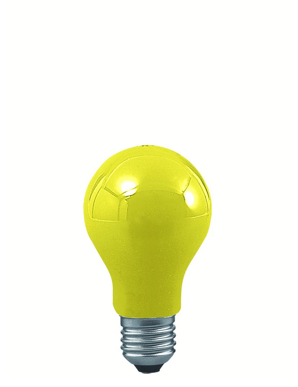 Paulmann Klasická žárovka 25W E27 žlutá 40022