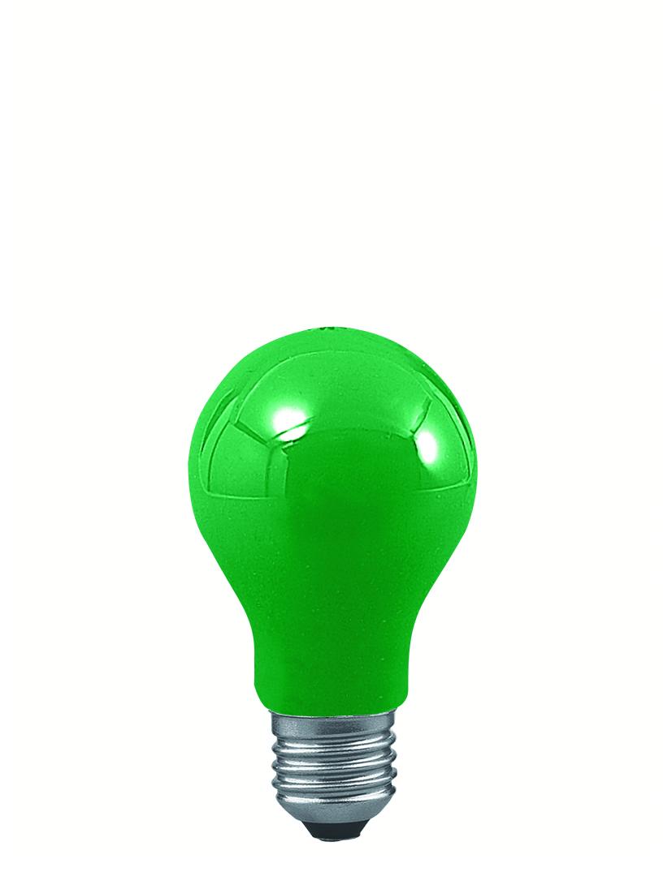 Paulmann Klasická žárovka 25W E27 zelená 40023