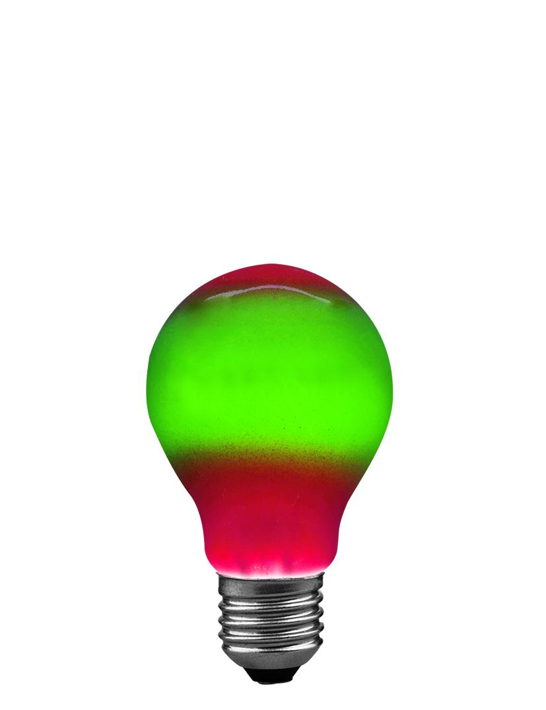 Paulmann Klasická žárovka 25W E27 červená/zelená 40040