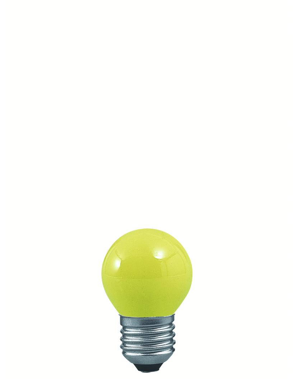 Paulmann Žárovka kapka 25W E27 žlutá 40132