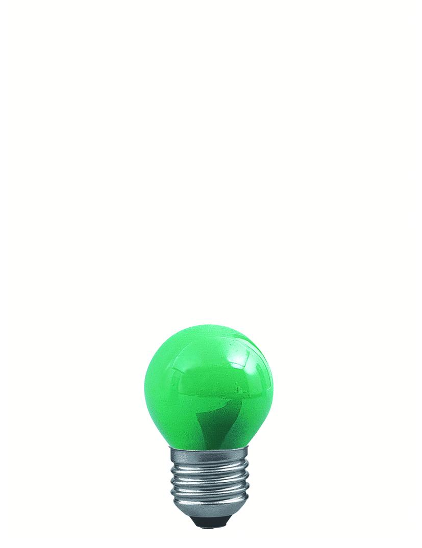 Paulmann Žárovka kapka 25W E27 zelená 40133