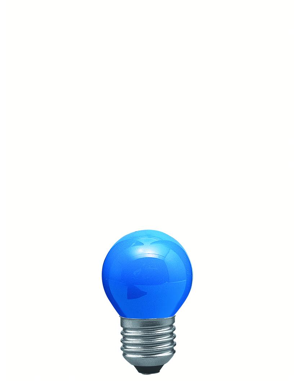 Paulmann Žárovka kapka 25W E27 modrá 40134