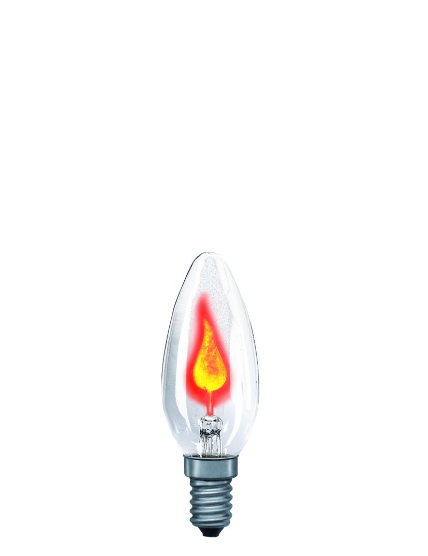 Paulmann Žárovka plamínek 3W E14 čirá 53000