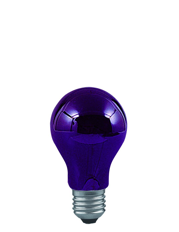Paulmann Klasická žárovka 75W černé světlo 59070