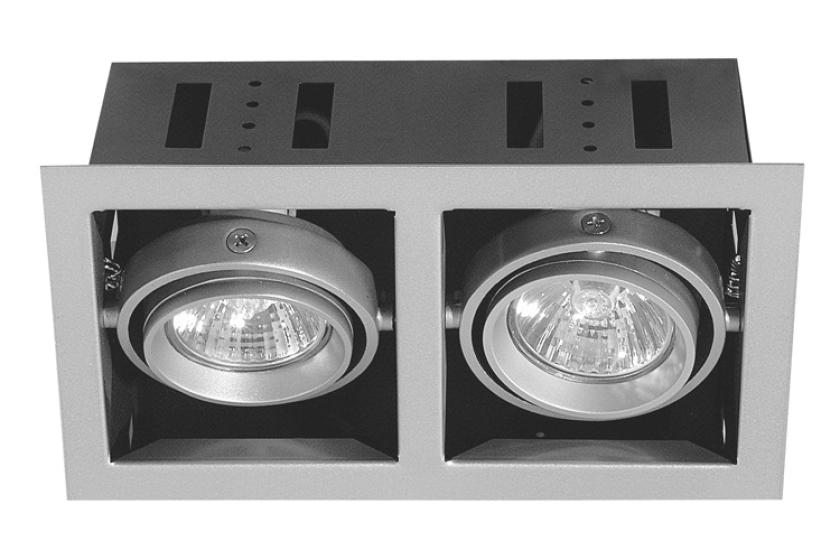 Paulmann Zápustné svítidlo Premium Set Cardano titan (P 75302)