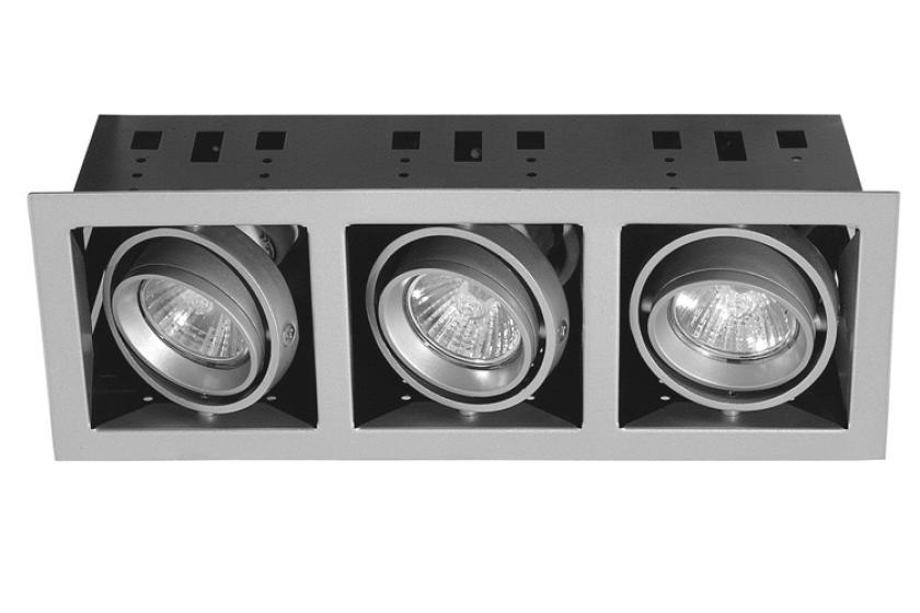 Paulmann Zápustné svítidlo Premium Set Cardano titan (P 75303)
