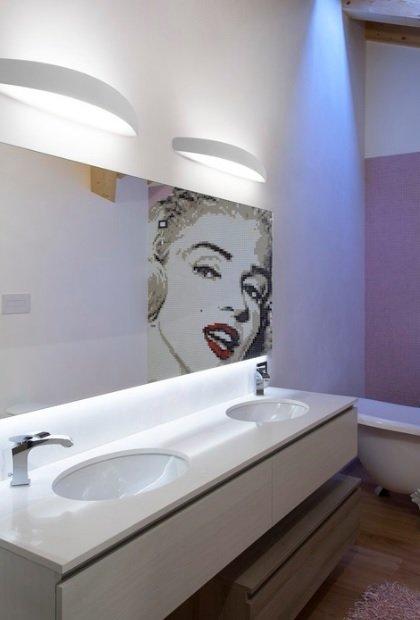 LineaLight Koupelnové LED světlo Prime_W 7814 bílé, 72cm