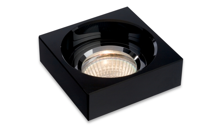 BPM Lighting BPM 3097GU/15 - Vestavné svítidlo Cristal černý 8052