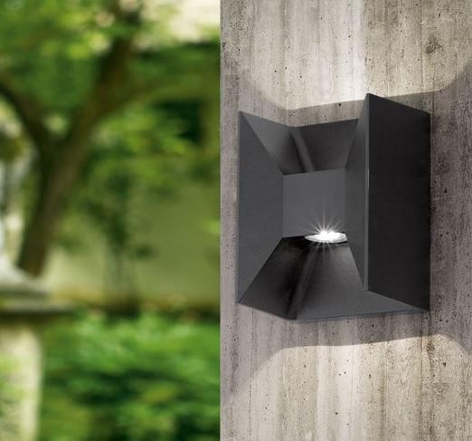 EGLO Venkovní LED nástěnné světlo Eglo 93319 svítí nahoru i dolů