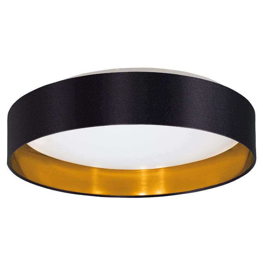 EGLO Stropní LED svítidlo MASERLO 31622 černé