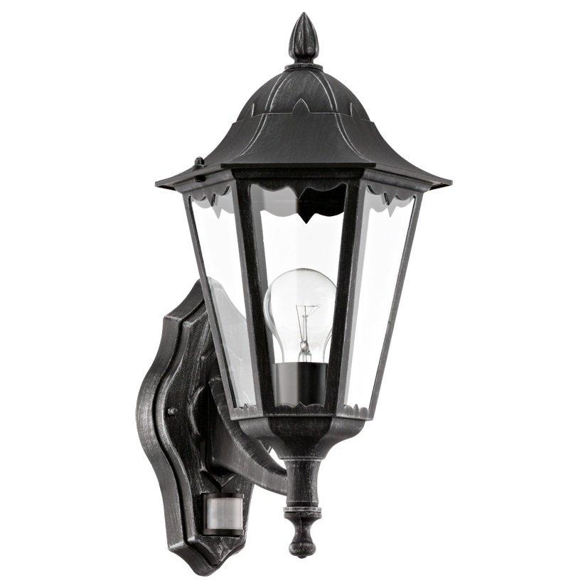 EGLO Nástěnné venkovní svítidlo s čidlem 93458