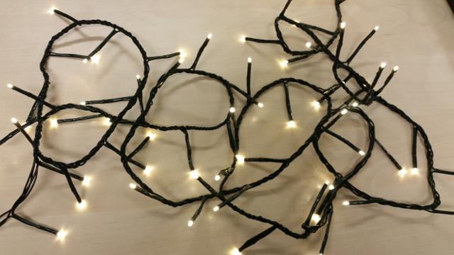 FDL Světelný LED řetěz 19,35m 288 LED žárovek 37080