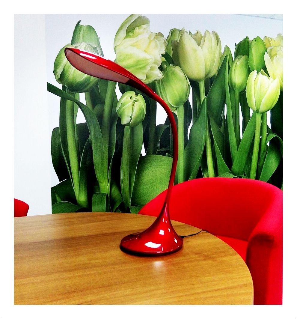 Stolní lampa LED GEA GLS003 červená