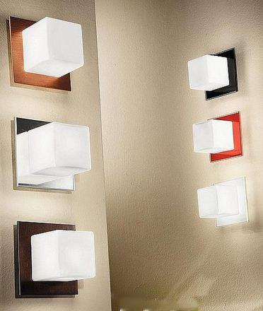 LineaLight Nástěnné a stropní svítidlo Cubic 6412 černé