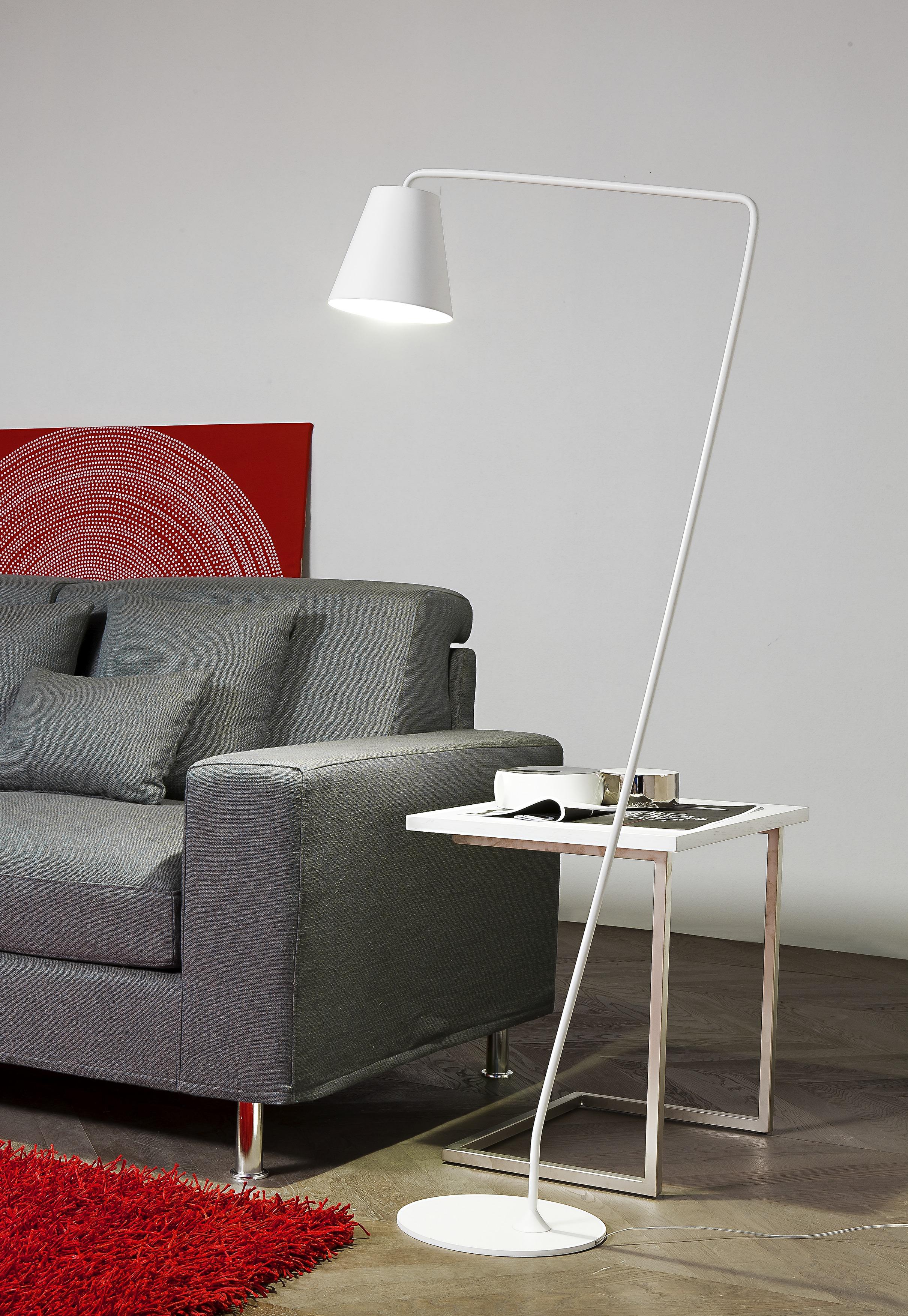 LineaLight Stolní lampa Conus LED 7284 – bílá