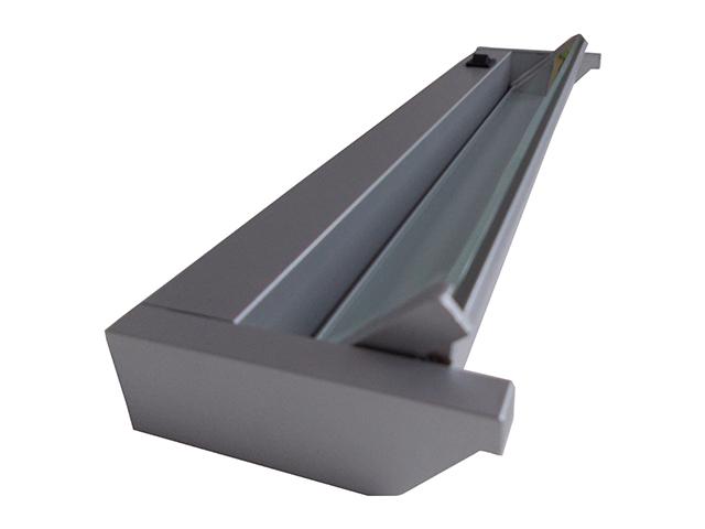 Profilite Kuchyňské svítidlo PL-CAB36-13W stříbrná s vypínačem PL-CAB36-13W-SILVER-6500K