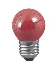 Paulmann Žárovka kapka 25W E27 červená 40131