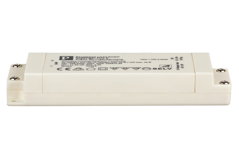 Paulmann Stmívatelný LED transformátor 230/12VAC 0-40/65W P_97767