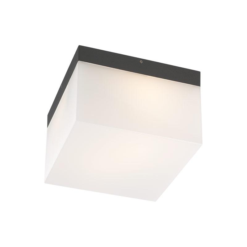 Redo Group Venkovní stropní,nástěnné LED svítidlo CUBE 9443