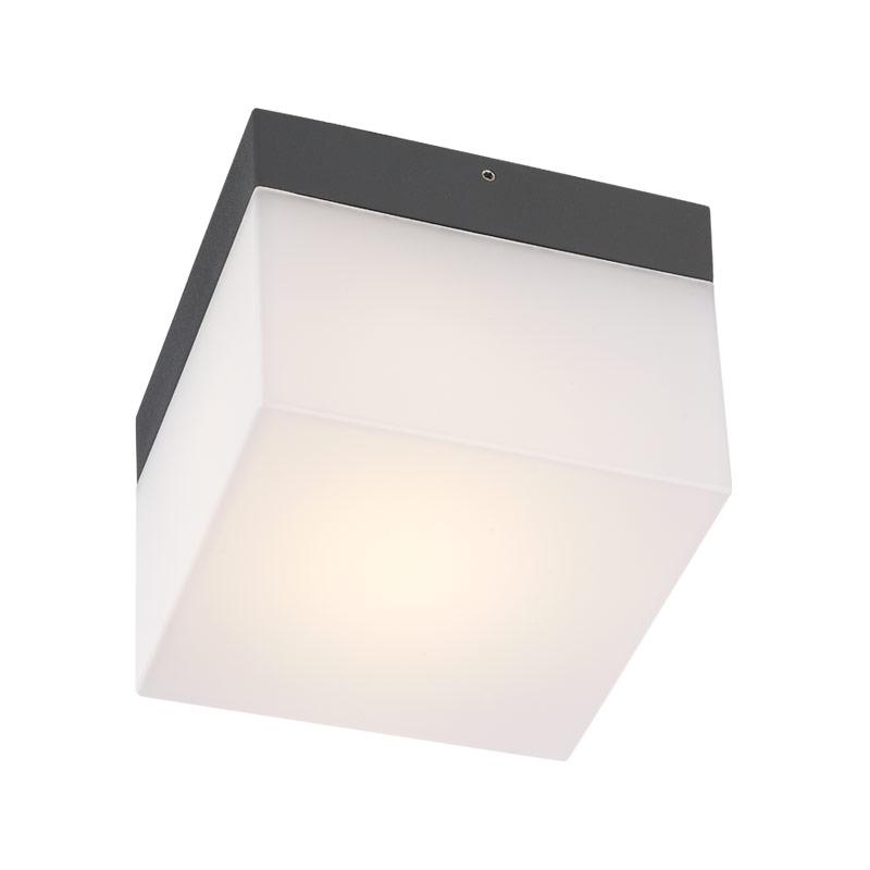 Redo Group Venkovní stropní,nástěnné LED svítidlo CUBE 9445