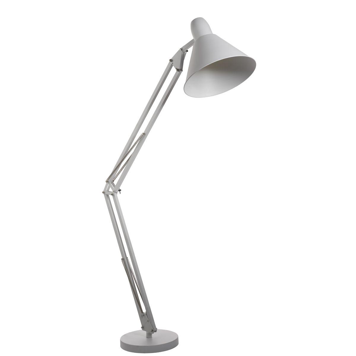 Searchlight Stojací lampa EU7073WH bílá