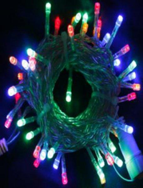 LCX-Chromex Profi LED světelný řetěz stálesvítící, multicolor, 40LED, 5m, prodlužovací SR-050138