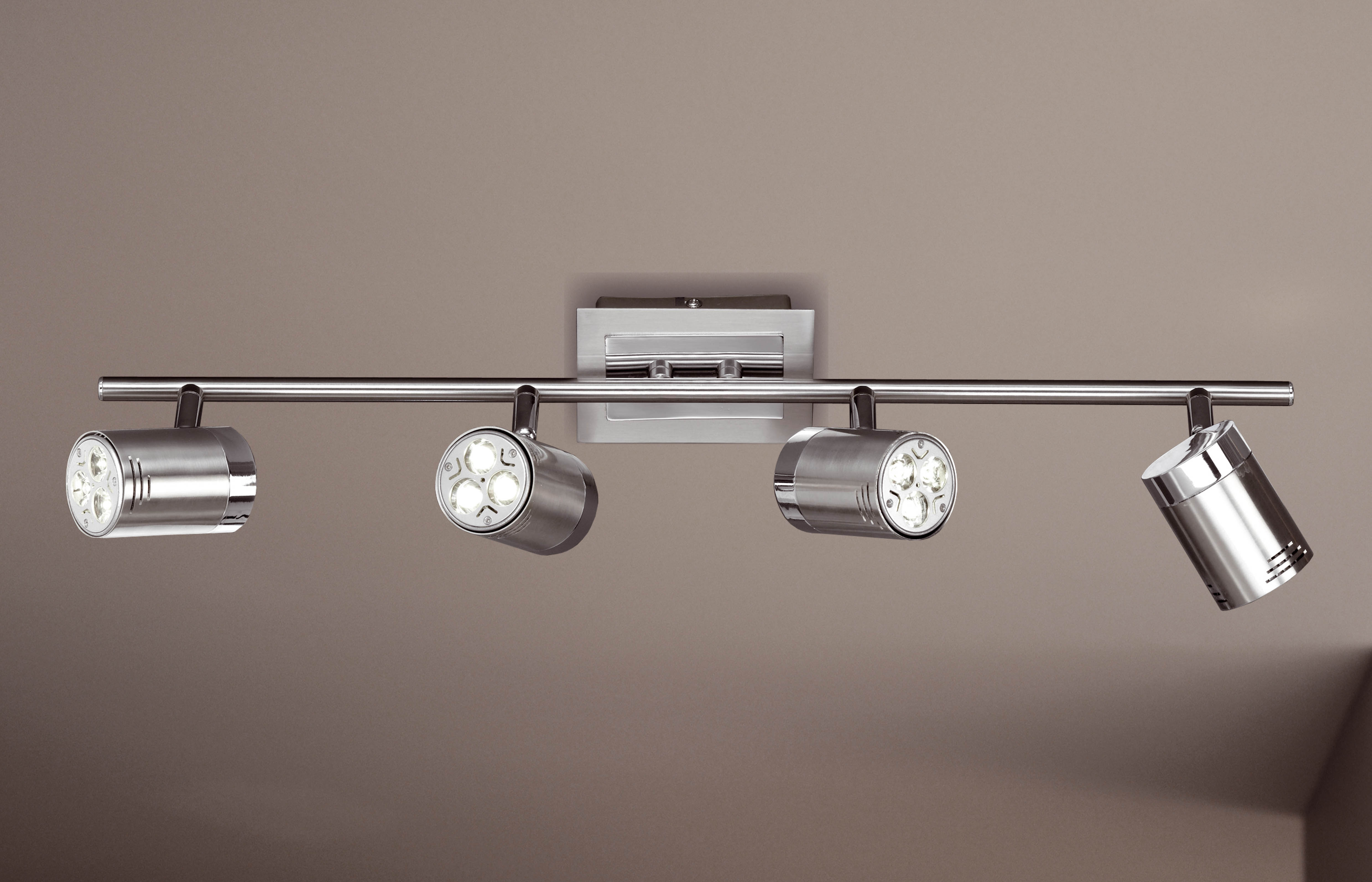 Wofi Spotové svítidlo NOA 4x GU10 4 W matný nikl WO 7393.04.64.0000