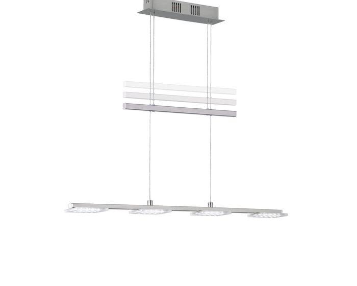 Wofi Závěsné svítidlo DARWIN 4x LED 4,8 W matný nikl 7613.04.64.0000
