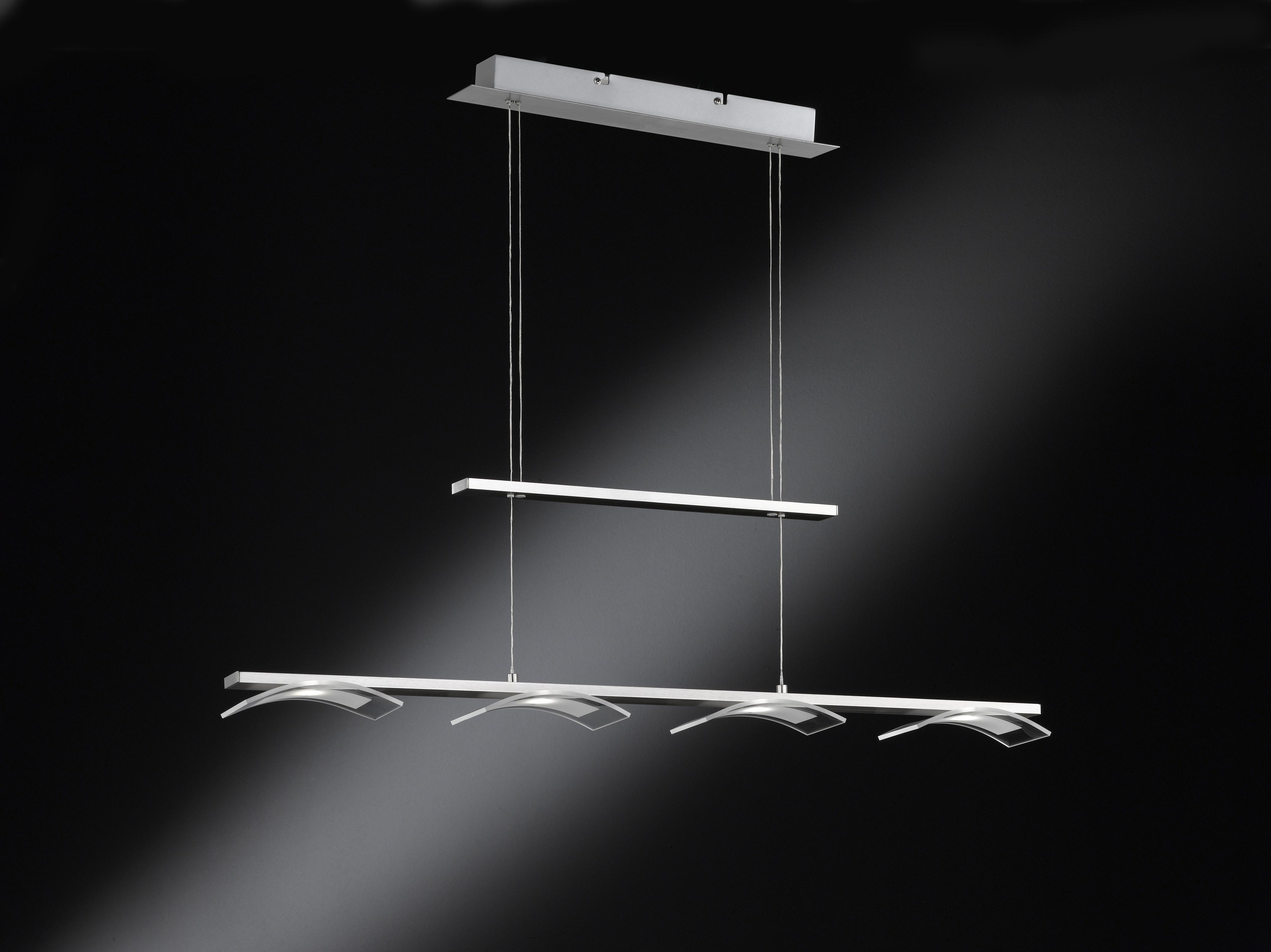 Wofi Závěsné svítidlo CONTES 4x LED 4,5 W matný nikl WO 7970.04.64.0000