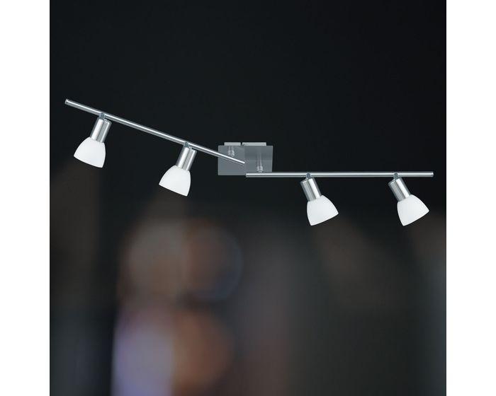 Wofi Spotové svítidlo ANGOLA 4x E14 max. 40 W matný nikl 9354.04.64.0000