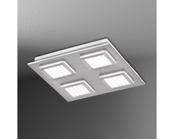 Wofi Stropní svítidlo LAURIDS 4x LED 6 W matný nikl WO 9889.04.64.0000