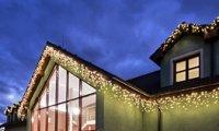 Hight-profi prodlužovací LED rampouchy, teplá bílá, 56LED, 2m