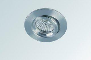 LED vestavné světlo BPM Savas 100A kartáčovaný hliník