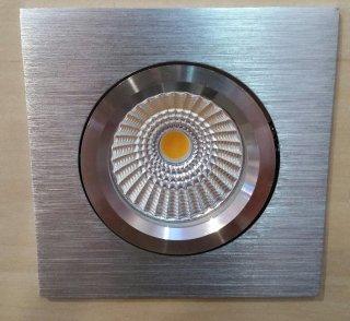 Vestavné LED svítidlo BPM Savas 101A kartáčovaný hliník