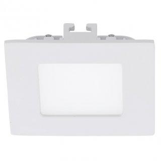 Zápustné LED svítidlo FUEVA1 94045 teplá bílá 85x85mm