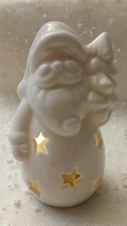 Porcelánová figurka Santa LED 13cm