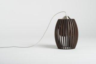 Závěsné svělo Avilo brown LI-012254 ze dřeva