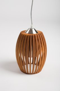 Závěsné světlo Avilo Reddish brown LI-012294 ze dřeva