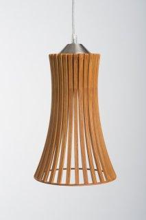 Závěsné svělo Kavia Reddish brown LI-032294 ze dřeva