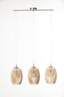 Závěsné světlo TreAvilo Nature LI-060000 ze dřeva