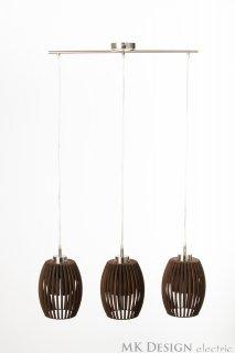 Závěsné světlo TreAvilo Brown LI-062254 ze dřeva