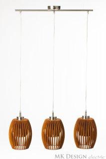 Závěsné světlo TreAvilo Reddish brown LI-062294 ze dřeva