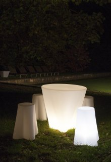 Italská lampa Flower OUT 15051 LineaLight 73cm