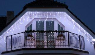 Hight-profi prodlužovací LED rampouchy, studená bílá, 56LED, 2m