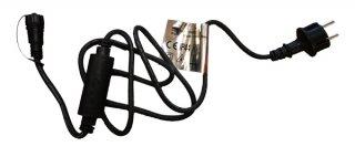 Napájecí kabel s AC/DC převodníkem, bílý kabel